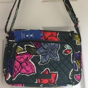 NWT Vera Bradley Little Hipster Handbag Cute!